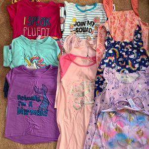 🎁 BUNDLE (15) Girls Pajamas/Nightgowns, L/XL